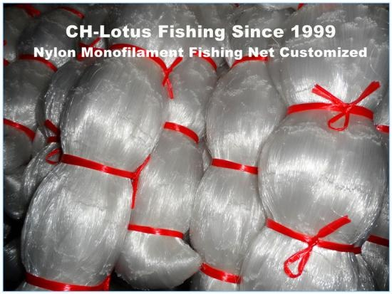 filet noué monofilament en nylon