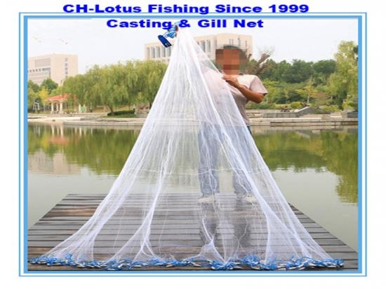 filet maillant en nylon de haute intensité de vente chaude -CH-Lotus Fishing